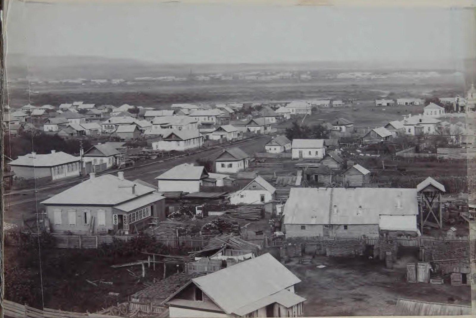 Часть панорамы города. 1898.1
