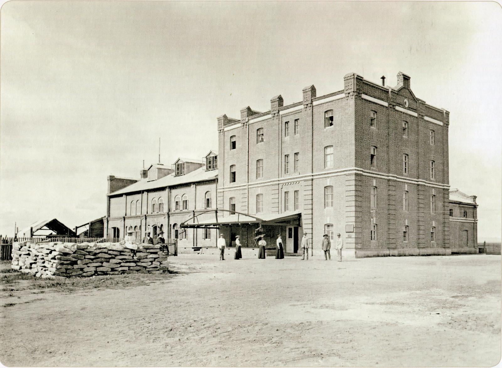 Мукомольная мельница Линдгольма. 1894