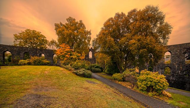 McCaig's Tower, Duncraggan Road, Oban, Scotland.