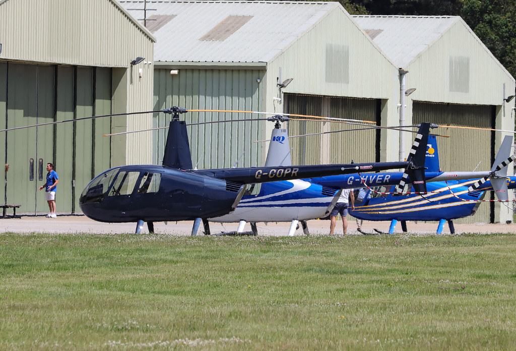 G-COPR  Robinson R44 II