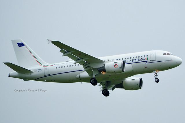 MM62174 : Airbus A319-115X/CJ at St Mawgan.