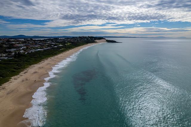 One Mile Beach Morning Seascape