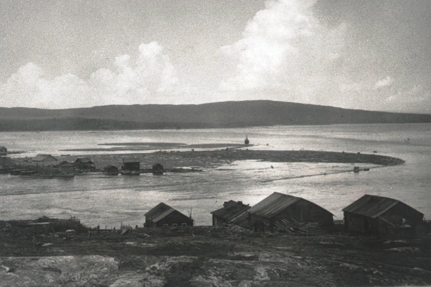 1926-1927. Устье реки Ковды. Север