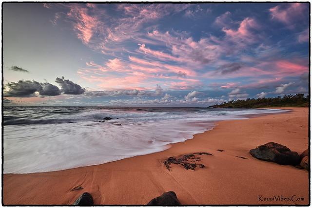 Donkey Beach, Kealia, Kauai.