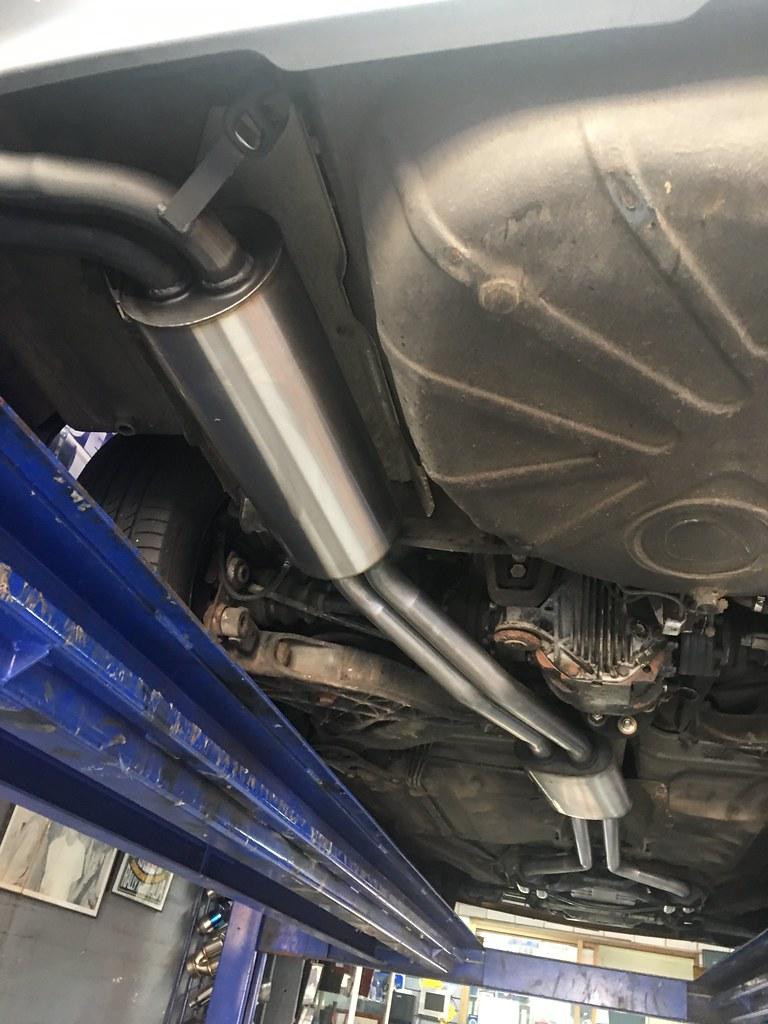 560SEC performance exhaust