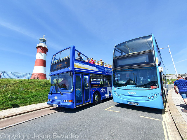Plymouth Citybus Open Toppers