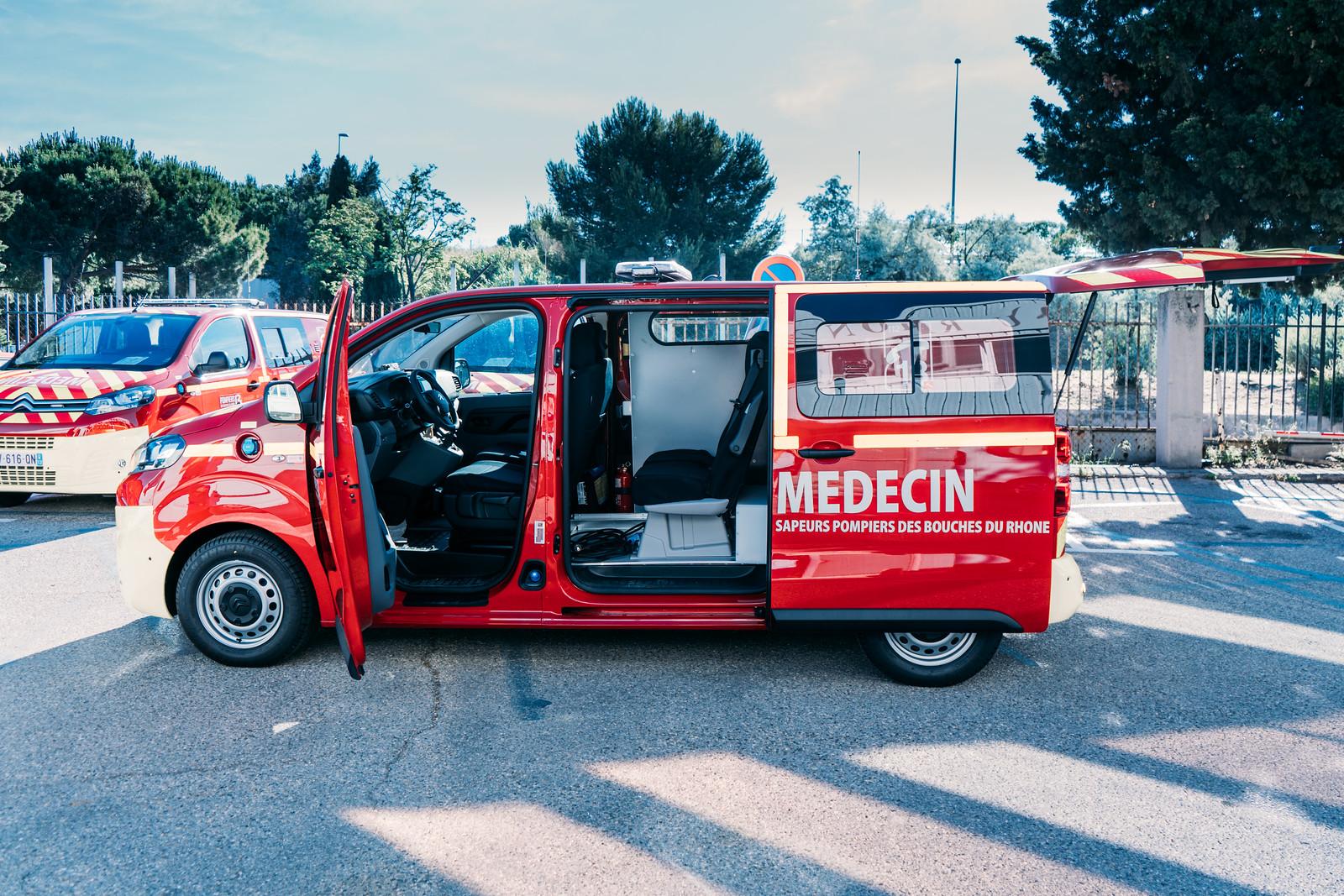 De nouveaux Véhicules légers médicalisés pour les Pompiers13