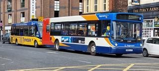 Stagecoach Slatyford MAN 18.220 Alexander ALX300 NK06 LUT & Go North East Optare Solo SR Tynedale Links NK16 BXL