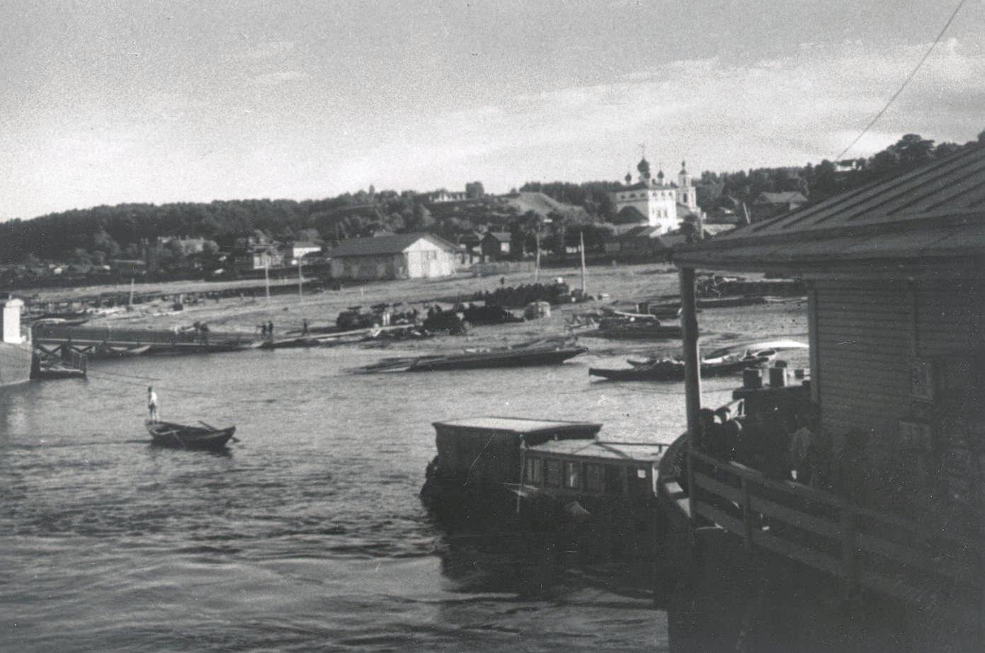 1926-1927. Юрьевец. Бармино. Север