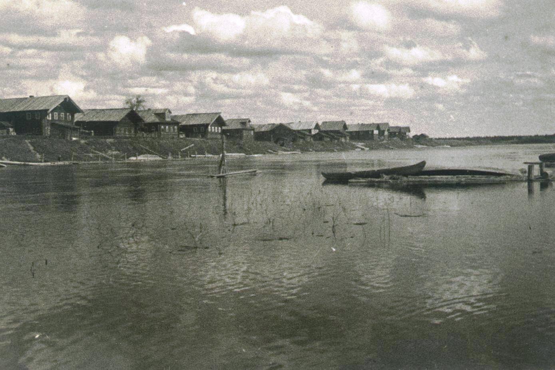 1926-1927.  Заречная Шалакуша. Север