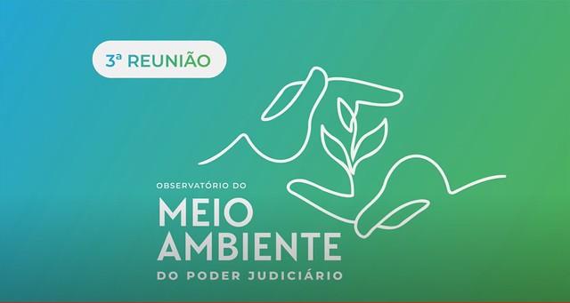 15/06/2021 Reunião do Observatório do Meio Ambiente do Poder Judiciário