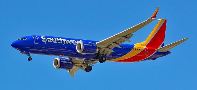 N8731J Southwest Airlines Boeing 737-8 MAX s/n 42550