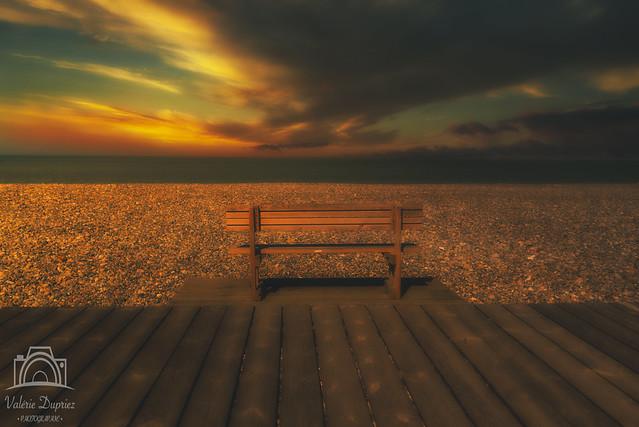 Sunset Baie de Somme