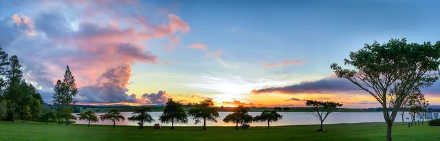 Sunset at Lake Tinaroo