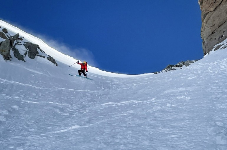 Sjezd Couloir Whymper