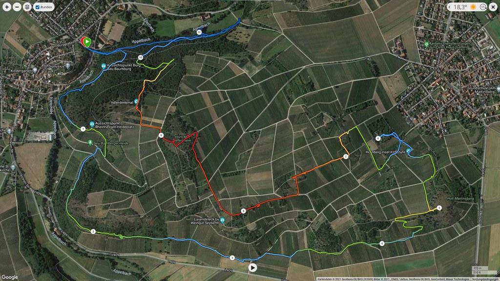Trailrunning Hiwweltour Heideblick von Neu-Bamberg aus