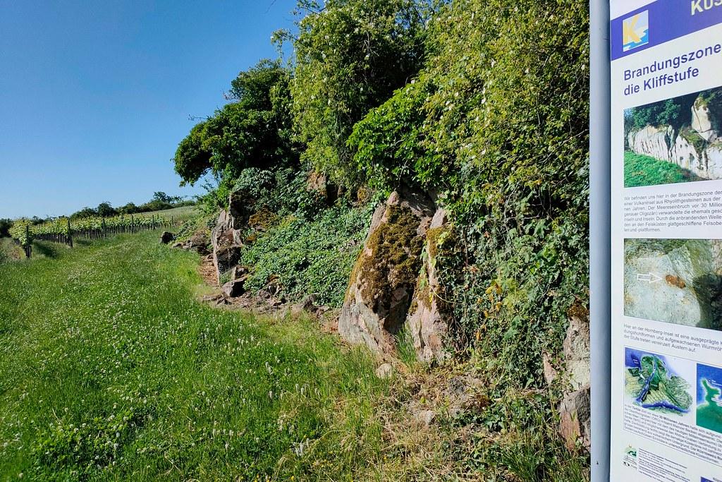 Kliffstufe über Siefersheim - Hiwweltour Heideblick