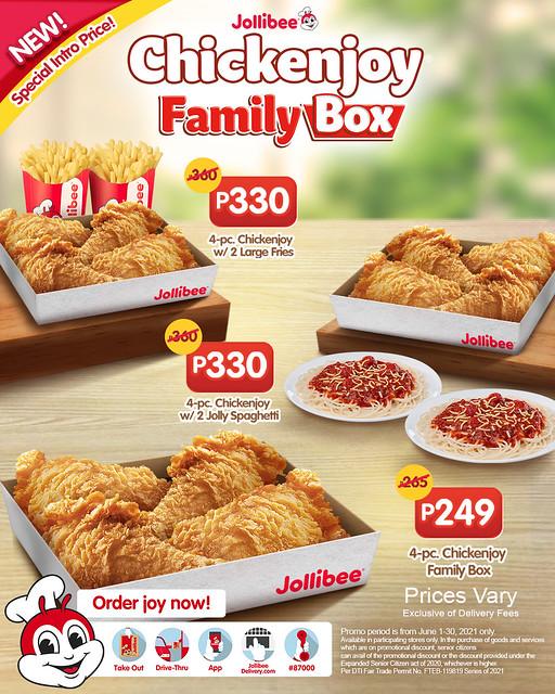 JB 4pc CJ Family Box