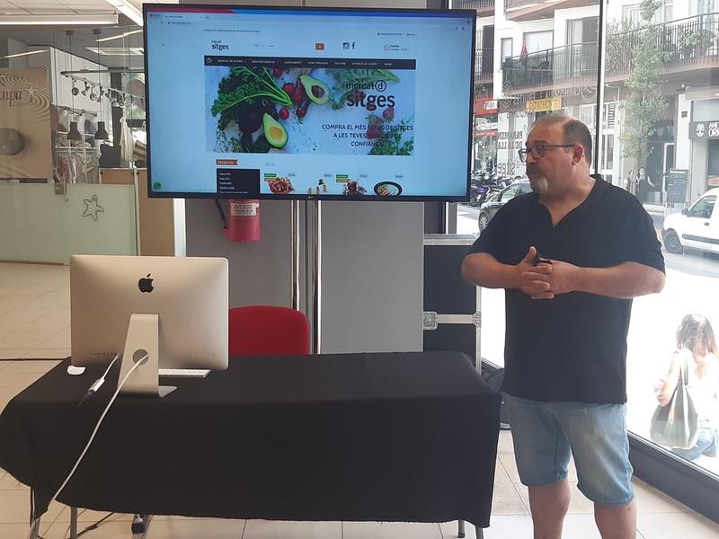 El Mercado Municipal de Sitges tiene un nuevo espacio web para compras online