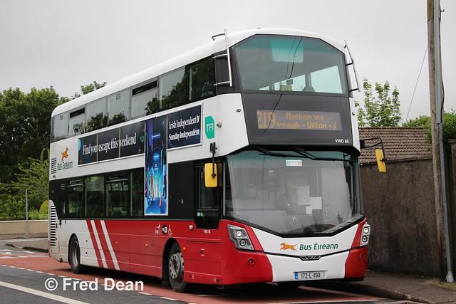 Bus Eireann VWD 88 (172-L-1190).