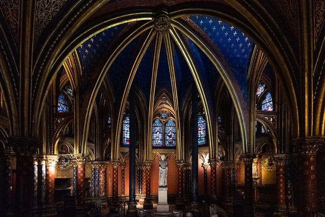 au coeur de la Sainte Chapelle