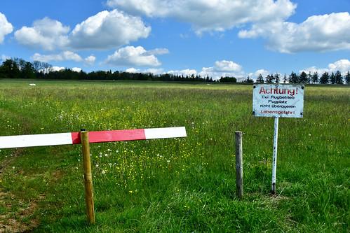 Glider Airfield - danger of death