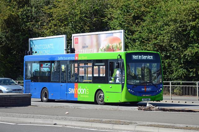 Swindon's Bus Co. YX17 NHU, Swindon