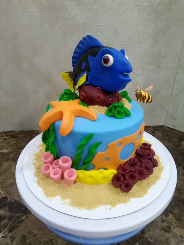 Cake by Be Creative Cakes