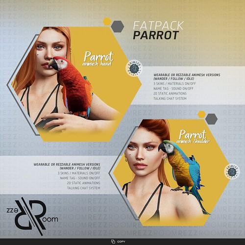 [Rezz Room] Parrot Animesh