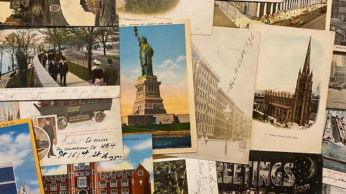 Vintage postcards in my collection