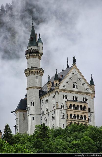Rising out of the Mist, Schloss Neuschwanstein, Germany