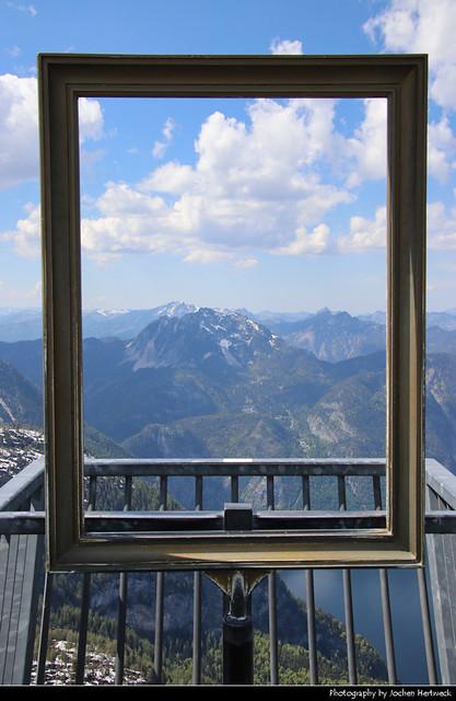Frame It, 5 Fingers Viewing Platform, Krippenstein, Austria