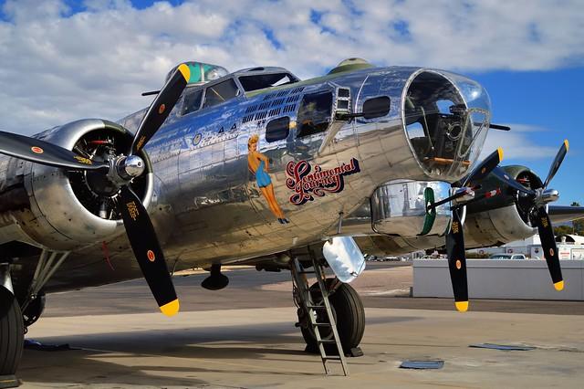 Boeing B-17G-86-DL Flying Fortress heavy bomber, 1944 - Falcon Field Airport, Mesa, Arizona