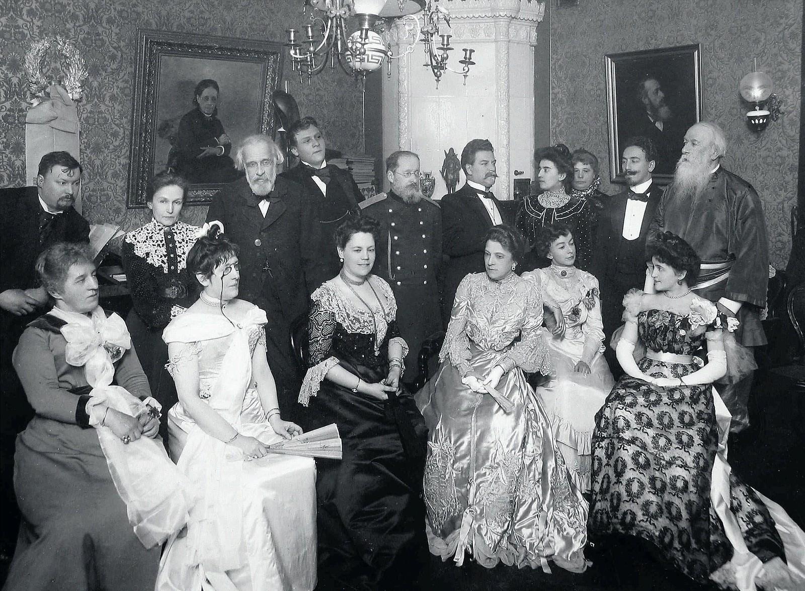 1904. Музыкальный вечер у В.В.Стасова