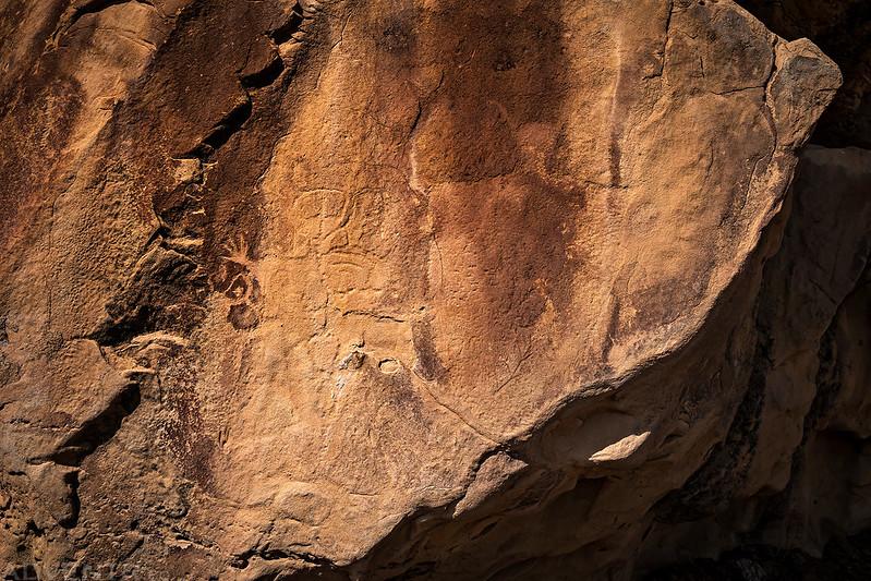 Barrier Canyon Style Petroglyphs