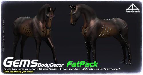 ABADDON ARTS - Gem Fat Pack