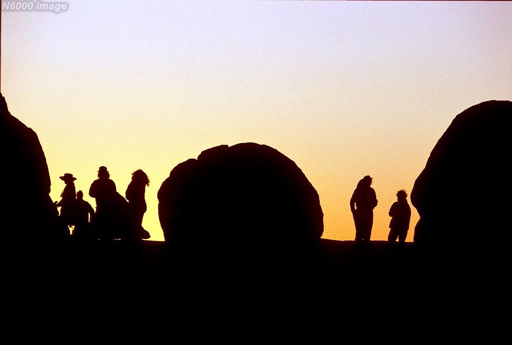 Matopos Hills Sunset.