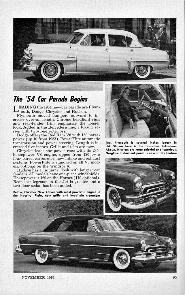 1954 Car Parade