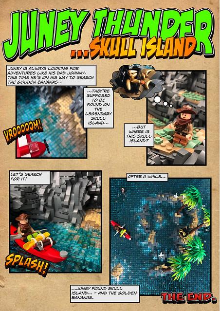 Juney Thunder - Skull Island Comic