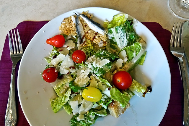 photo - Caesar Salad with Anchovies