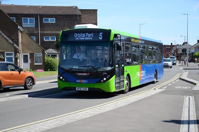 Swindon's Bus Co. HF67 AUE, Swindon