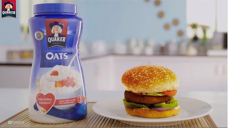 Tasty Oats Burger Recipe   Quaker Oats