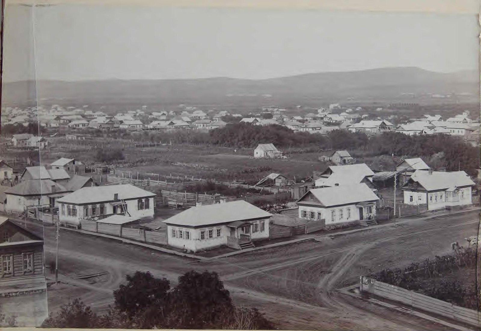 Часть панорамы города. 1898.