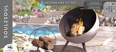 Soul2Soul. Artisan Fire Pit Set for Evolve mainstore event