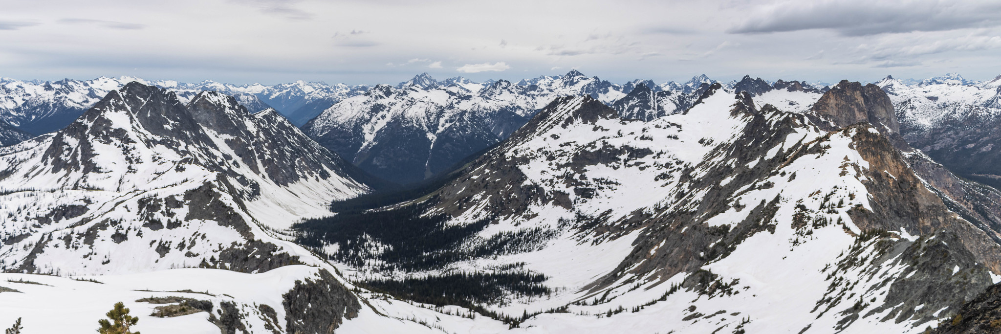 Western panoramic view