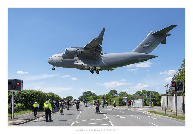 RAF Northolt, USAF C-17A Globemaster III