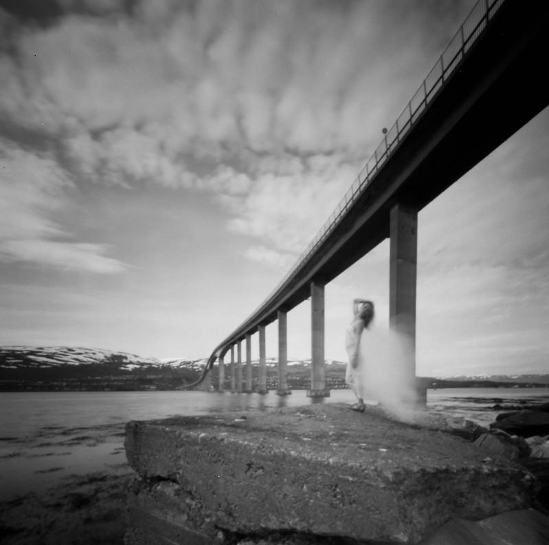 Christine under the bridge