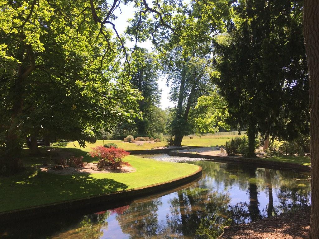 The River Colne at the Buckinghamshire Golf Club in Denham