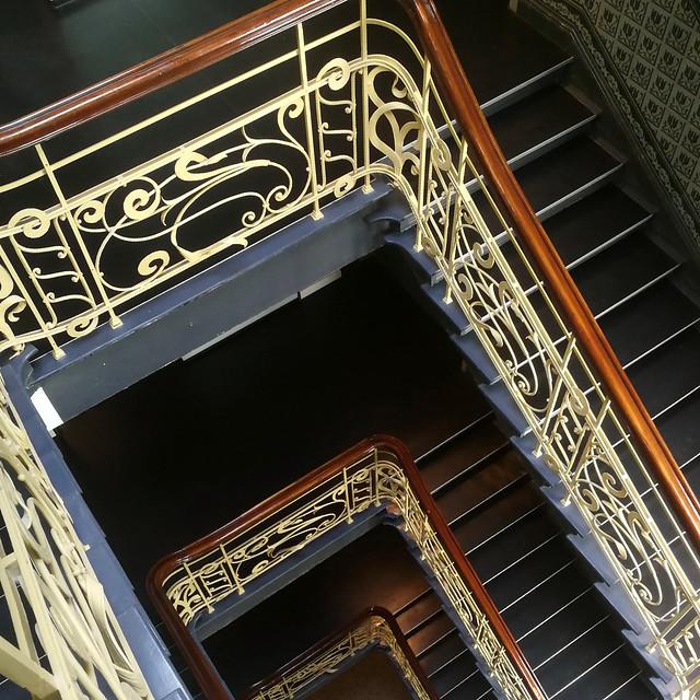 durchs Treppenhaus