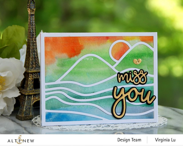 Altenew-Abstract Landscape Cover Die-All About You Die Set-001